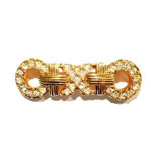 Swarovski Crystal Hugs & Kisses Pin Brooch